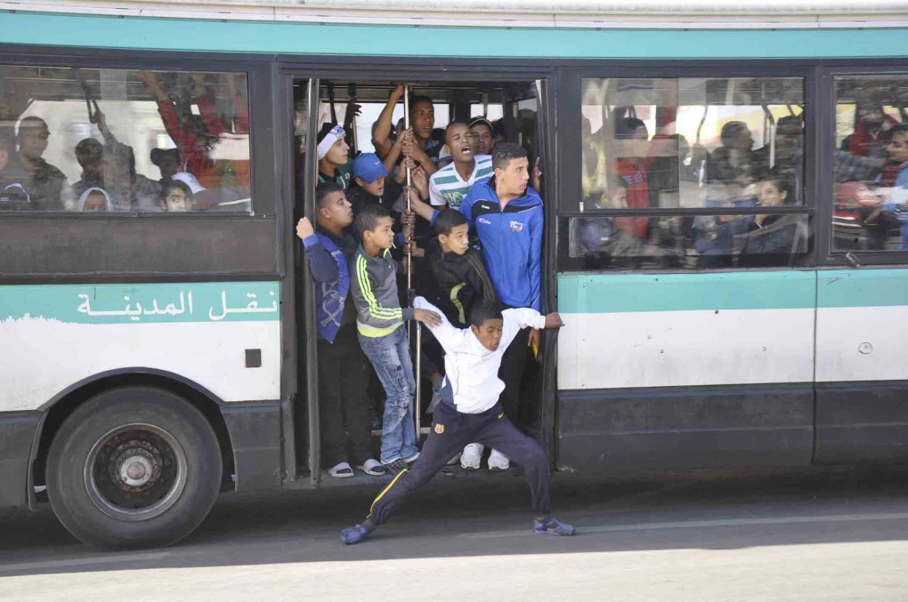 """إضراب في جميع خطوط """"طوبيسات"""" في الدار البيضاء"""