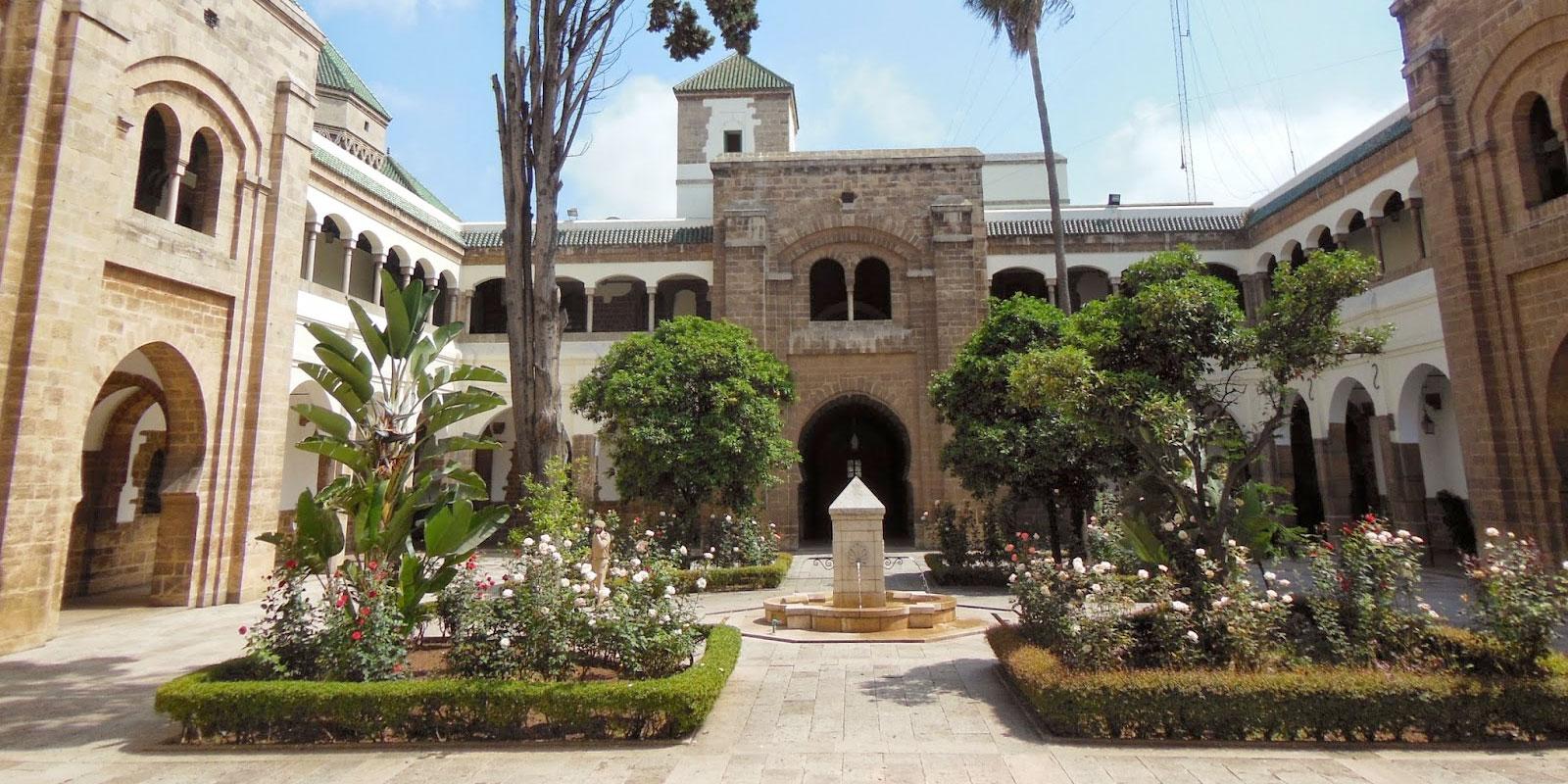 مقر مجلس مدينة الدار البيضاء بحي «الأحباس» أو «الحبوس»